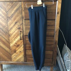 Cute dressy but comfortable navy slacks!